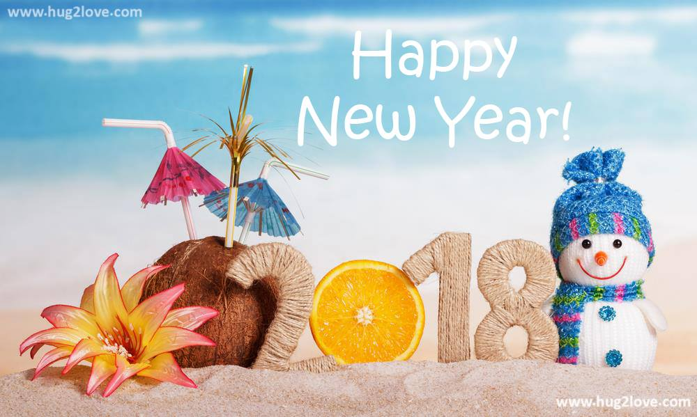 Cool New Year 2018 images cover photos