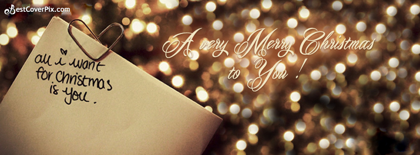 Merry Christmas 2018 Facebook Cover Pictures