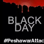 Black Day Peshawar attack on school Facebook cover