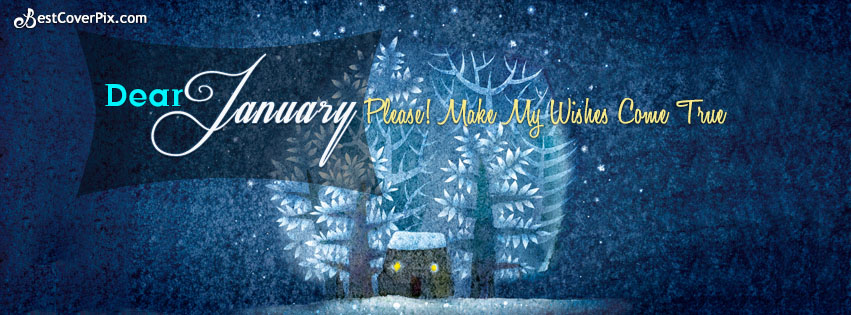 Dear January Facebook Cover Banner