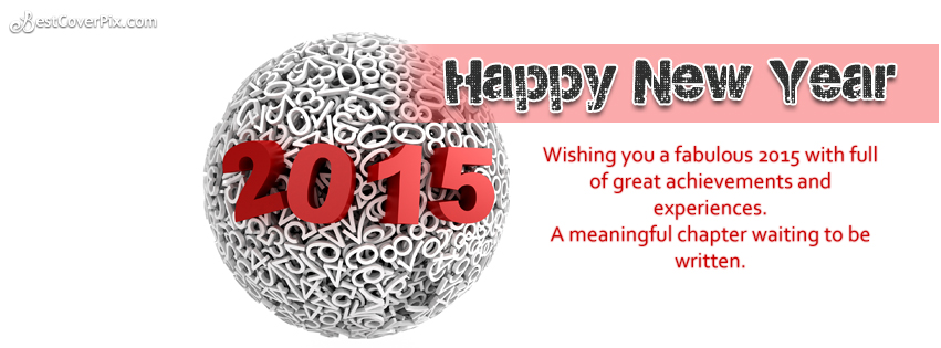 Happy New Year 2015 Timeline Cover Photo