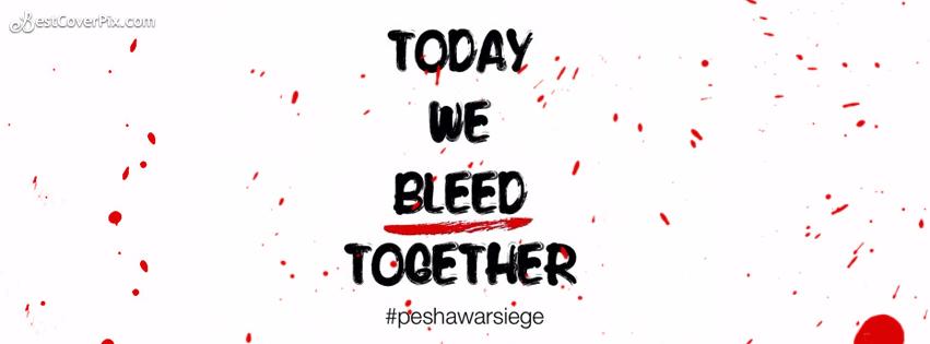 Peshawar Siege Attack Facebook Cover Banner