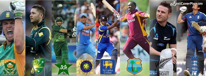 2015 ICC World Cup FB Cover Banner