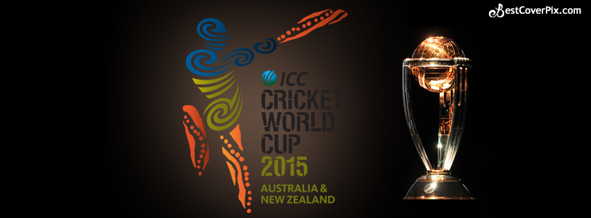 ICC CRICKET WORLD CUP 2015 Trophy FB Cover Banner