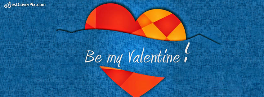 be my valentine fb cover