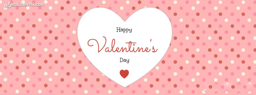 happy valentines day fb cover photo