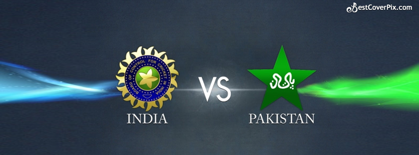 India vs Pakistan Cricket World Cup FB Cover Photo