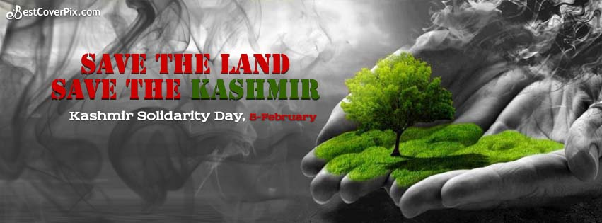 Save the Kashmir- 5 February Facebook Cover Photo
