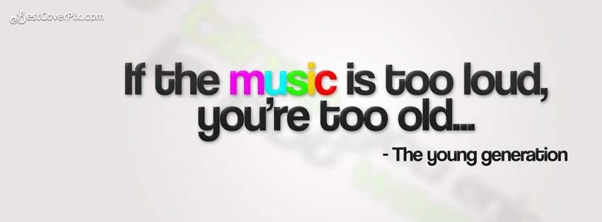 music quotes fb cover