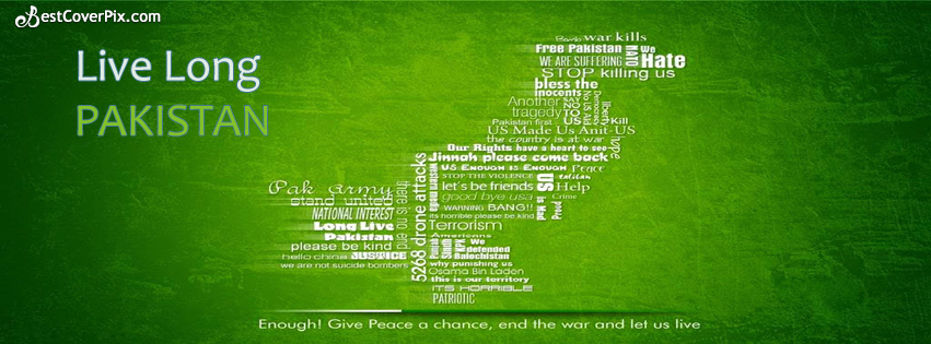 Live Long Pakistan FB Cover Banner
