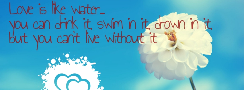 Cute Love Quotes for Facebook Covers