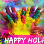 happy holi fb cover