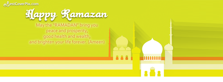 happy ramzan fb cover photo