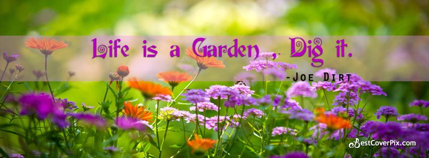 garden life quotes fb banner