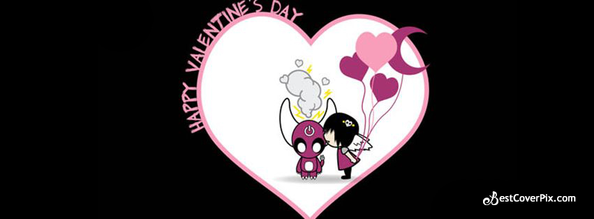 Happy Valentines Day 2016 Cute FB Banner