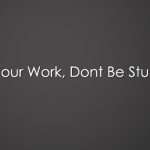 do your work dont be stupid facebook cover photo
