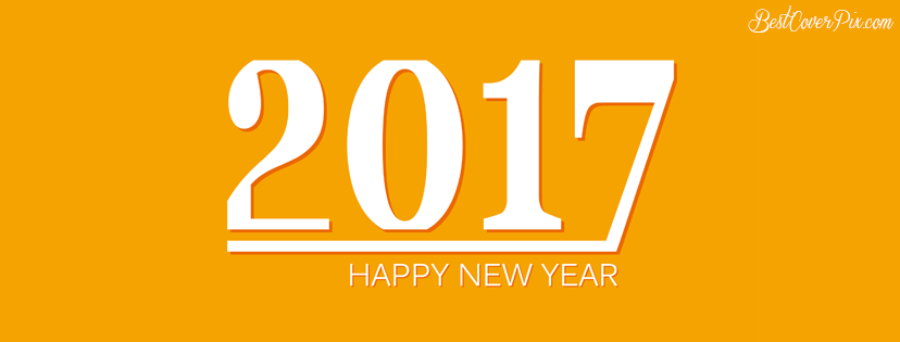 2017 simple New year image banner