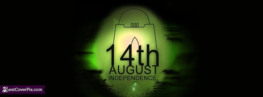 Happy Independence Day 14th Aug FB Banner Photo