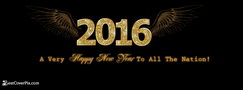 happy new year banner 2016