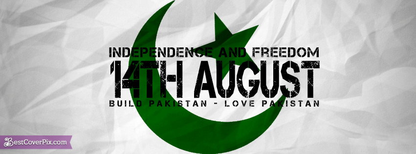 Love Pakistan – 14TH August Facebook Profile Banner Photos