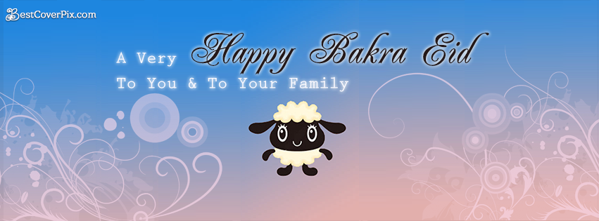 Happy Bakra Eid Wishes Facebook Profile Banner Photo