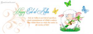 happy eid ul adha fb quotes banner photo