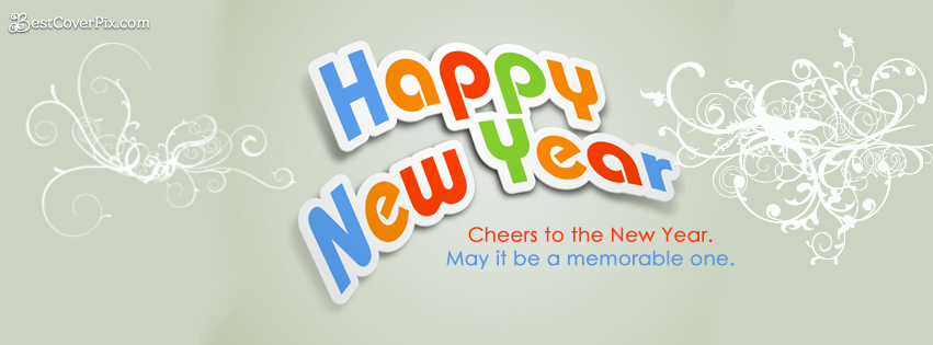 cool happy new year 2015 facebook cover photos