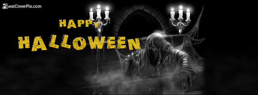 happy halloween timeline photo