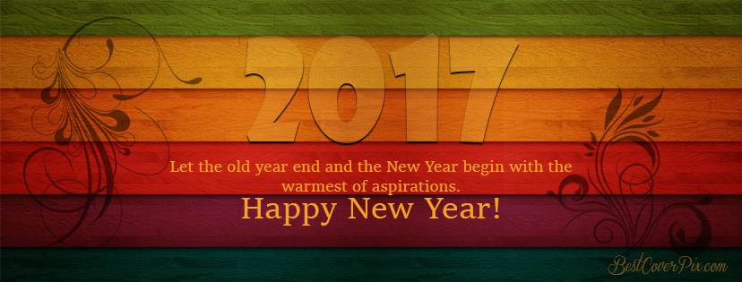 Happy New Year 2017 Facebook Cover Pictures - Part 3