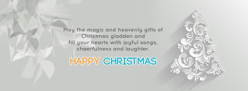 happy christmas fb cover photo
