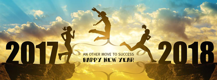 Top New Year 2018 Facebook Timeline Covers HD For Motivation