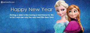 New Year 2016 Facebook covers for girls