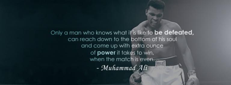 Boxer Muhammad Ali Quotes