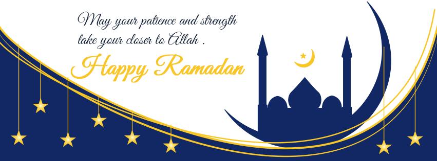 Happy Ramadan 2016 Quotes FB Cover Photo
