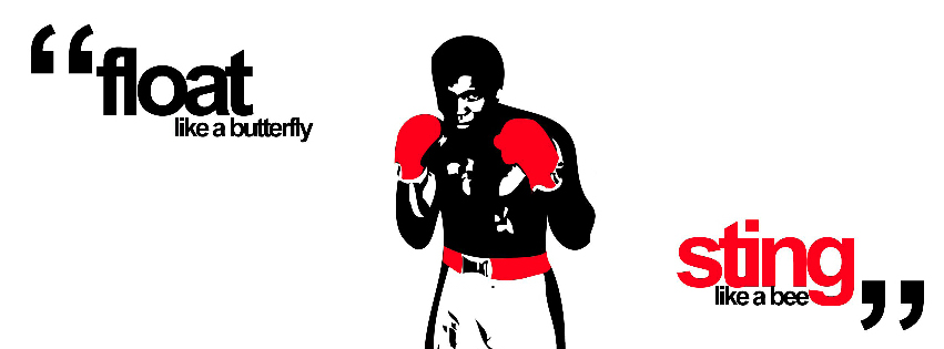 Boxing quotes facebook cover