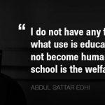 Abdult Sattar Edhi Facebook Cover