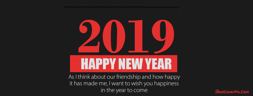2019 happy new year quotes facebook cover photos