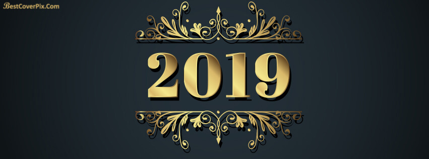 Happy New Year 2019 Facebook Covers & Profile Pictures