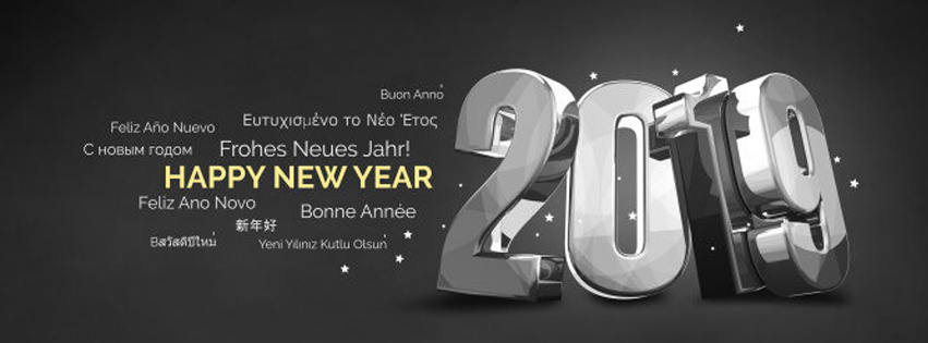 2019 Happy New Year Special FB Cover to Wish the World