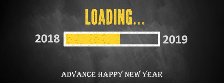 Advance Happy New Year 2019 Wishing facebook Cover photo