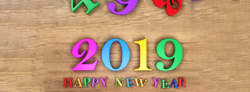 Newspaper of 2019 say A very Happy New Year to You – FB Cover