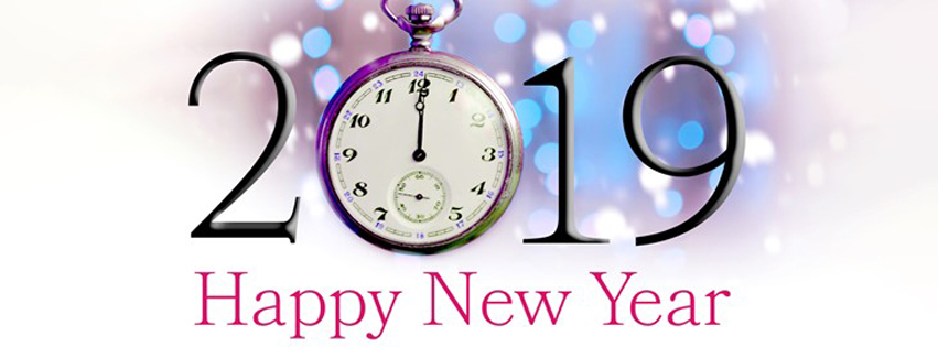 Countdown Clock 2019 Happy New Year Facebook Covers