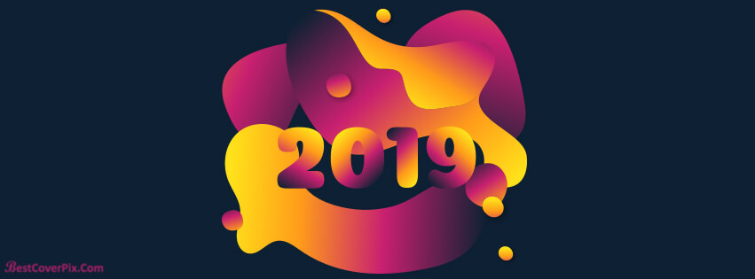 Happy New Year 2019 Greeting Banners for FB