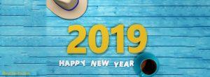 New Year 2019 facebook covers