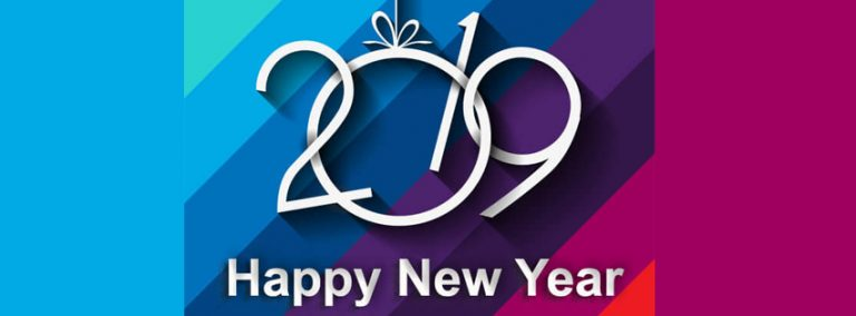Stylish New Year 2019 Facebook Covers