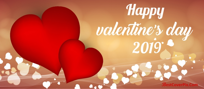 Happy Valentine's Day 2019 FB Cover photo
