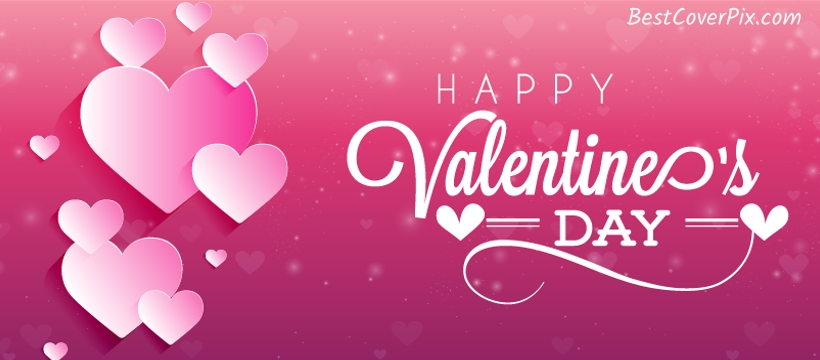 Happy Valentine's Day in Soft Pink