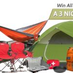 Take Me Camping Giveaway