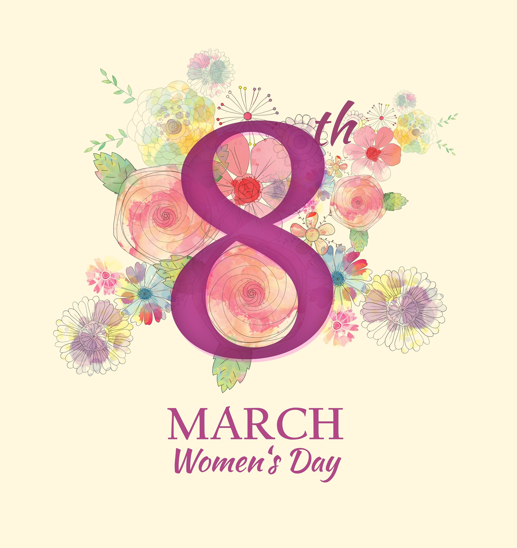 International Women's Day – March 8th